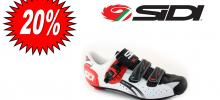 SIDI Genius 5 fit carbon bianco/nero/rosso