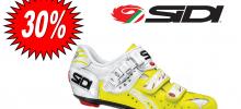 SIDI Genius 5 fit carbon vernice bianco/giallo fluo