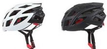 MFI My Future Innovation FUTURE HELMET casco ciclismo nero e bianco