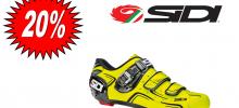 SIDI LEVEL GIALLO FLUO scarpa bdc 2017