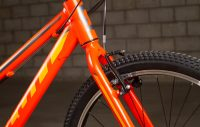 SCOTT SCALE JUNIOR 24 ORANGE DETTAGLIO FORCELLA