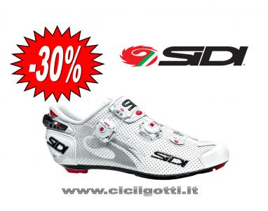 SIDI Wire carbon air vernice bianco scarpa bdc