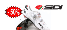 SIDI Wire carbon air vernice bianco scarpa bdc