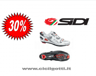 SIDI ERGO 4 CARBON COMPOSITE BIANCO scarpa bdc PROMO