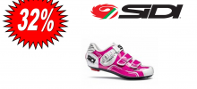 SIDI LEVEL woman fuxia bianco scarpa STRADA