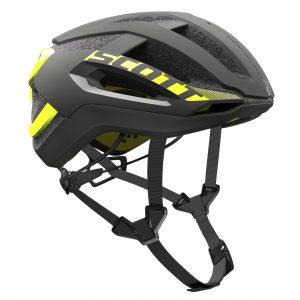 SCOTT CENTRIC PLUS casco 2017 giallo