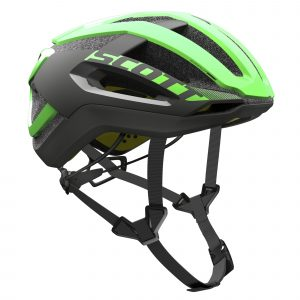 SCOTT CENTRIC PLUS casco 2017 nero verde
