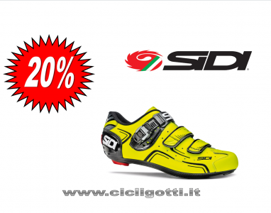 SIDI LEVEL GIALLO FLUO scarpa bdc 2017
