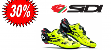 SIDI SHOT GIALLO LUMINESCENTE scarpa bdc