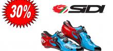 SIDI WIRE CARBON BLU SKY/NERO/ROSSO scarpa bdc 2017