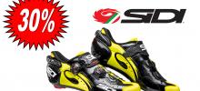SIDI WIRE CARBON NERO/GIALLO FLUO scarpa bdc 2017
