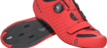 SCOTT ROAD COMP BOA MATT RED BLACK 2020