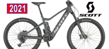 SCOTT STRIKE E-RIDE 930 BLACK BICICLETTA ELETTRICA 2021