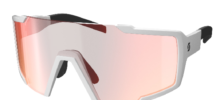 SCOTT SHIELD WHITE RED CHROME OCCHIALI DA SOLE 2020