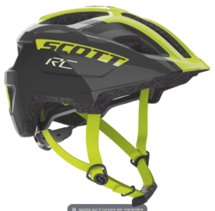 SCOTT SPUNTO JUNIOR BLACK RADIUM YELLOW RC 2020