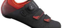 SHIMANO SCARPA CORSA RP400 BLACK ORANGE RED 2020