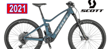 SCOTT STRIKE E-RIDE 930 BLUE BICICLETTA ELETTRICA 2021