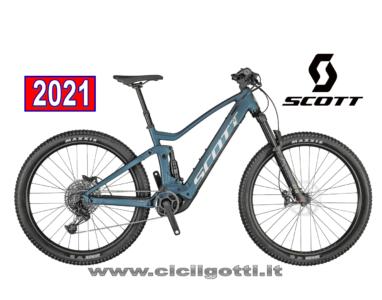 SCOTT STRIKE E-RIDE 930 BLUE BICICLETTA ELETTRICA 2021