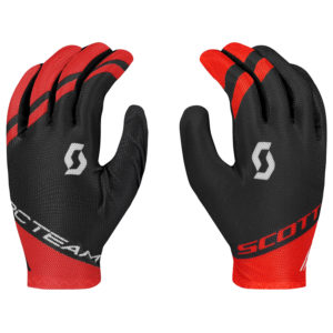 SCOTT GUANTO RC TEAM LF BLACK FIERY RED