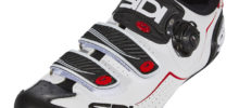 SIDI ALBA WHITE BLACK RED BDC
