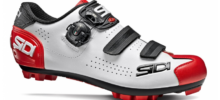 SIDI MTB TRACE 2 WHITE BLACK RED 2021