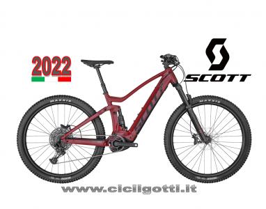 SCOTT STRIKE ERIDE 930 RED 2022 MTB ASSISTITA
